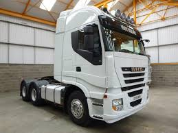 iveco stralis 500 euro 5 6 x 4 tractor unit 2008 dx08 wrv