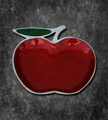 platter apple red online gift shopping india silver plated