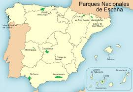 Spain Political Map list of national parks of spain wikipedia