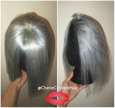 Grey Human Hair Extensions by 100 Human Hair Closure Topper Bangs Fringe Silver Grey Gray