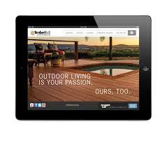 timbertech introduces ipad app for deck design user friendly