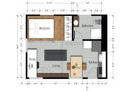 New York Apartments Floor Plans by Studio Type Apartment Floor Plan With Dimensions Plans Australia