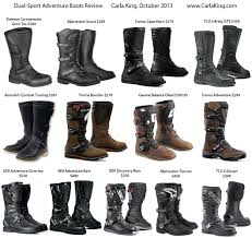 what are the best motocross boots review of dual sport adventure motorcycle boots