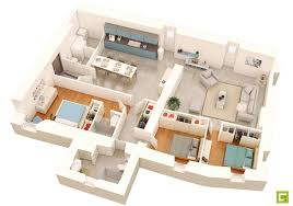 House 3d Model Free Download by 100 3d Floor Plans For Houses How To Make 3d Floor Plan 3ds