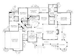 One Level Home Plans 5 Bedroom One Story House Plans Mattress