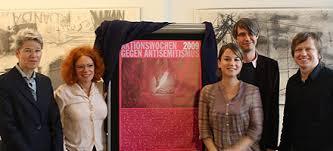 Eröffnung der Aktionswochen 2009: Claudia Schmid, Anetta Kahane, Franziska Drohsel, Dirk von Lowtzow, Jan Jetter Quelle: mut / sb - aktionswochen200