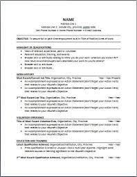 types objective of resume samples with educatioin in university     LearnHowToLoseWeight net