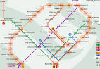 CIRCLE LINE map - Singapore MRT