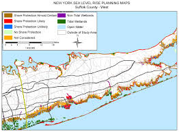 New York County Map by Sea Level Rise Planning Maps Likelihood Of Shore Protection