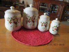 ceramic canisters ebay
