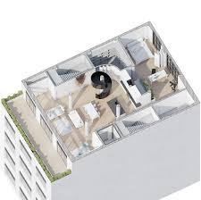 ultra luxury loft floor plan interior design ideas