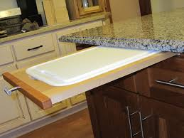 Cool Cutting Boards How To Install A Pull Out Cutting Board In Kitchen Cabinet