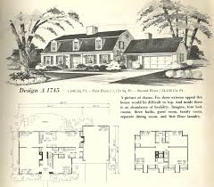 Vintage Home Design Plans Vintage House Plans 1970s New England Gambrel Roof Homes