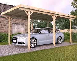 wood carports flat roof sloping roof u2022 braun u0026 würfele perolas