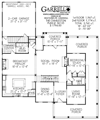 charleston house plan covered porch plans