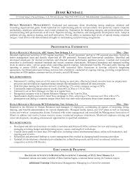 Resume Examples Human Resources Resumes And Cover Resume Samples Human Resources