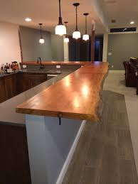 Kitchen Bar Design Quarter by Counter U0026 Bar Tops U2014 Live Edge Workshop