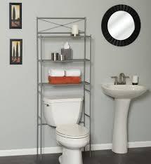 Bathroom Shelves Walmart Hometrends Cross Style Metal Spacesaver 3 Shelf Satin Nickel