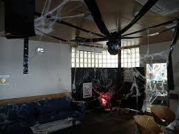 office futuristic darkgray halloween decorating ideas for office