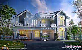 awesome western model house plan kerala home design bloglovin u0027