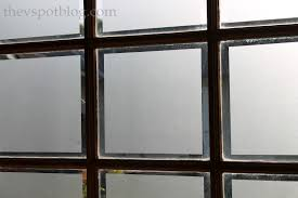 frosted glass window film adds privacy to garage windows