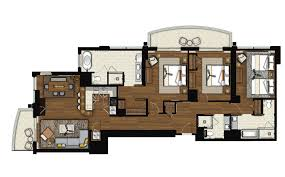 Penthouse Floor Plans The Grand Islander By Hilton Grand Vacations Club In Honolulu Hawaii