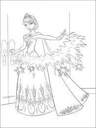 15 free disney frozen coloring pages