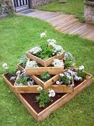 15 diy garden planter ideas using wood pallets tiered planter