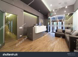 Modernist Interior Design Modern Interior Design Lobby Dental Clinic Stock Photo 430827292
