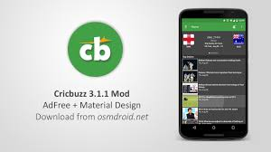 cricbuzz 3 1 1 apk adfree mod free download live score app