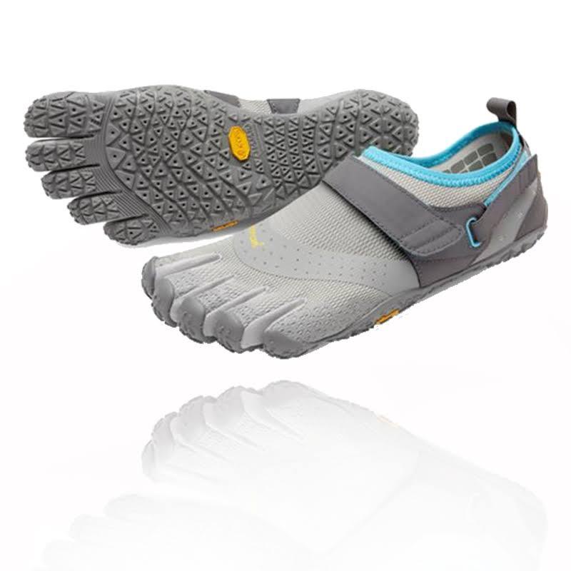 Vibram FiveFingers V-Aqua Water & Boat Shoes Grey/Blue 39 EU 18W730339