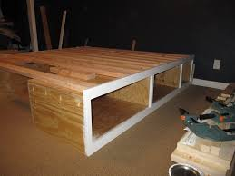 Diy Platform Bed Frame Designs by Great Platform Beds With Storage Drawers Bedroom Ideas