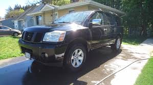 nissan armada tire size need pictures of your armada u0027s stance pleaseeeee nissan armada