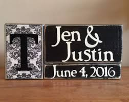 Personalized Signs For Home Decorating Wood Block Signs Wood Home Decor For Every By Woodnexpressions