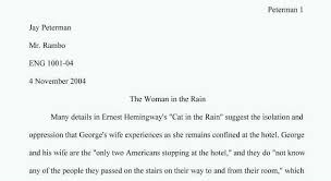 example of college essay