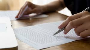 how to write the background of a research paper how to review a paper science aaas someone correcting a paper