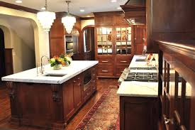 classic traditional gourmet kitchen edina