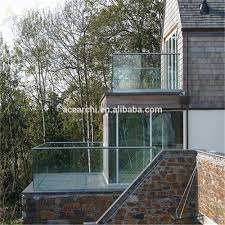 Indoor Balcony Balcony Glass Railing Balcony Glass Railing Suppliers And