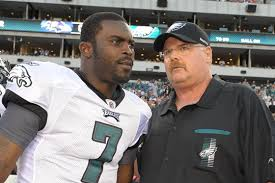 Michael Vick and Andy Reid