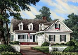 Cape Cod House Plans With Porch House Plan 86196 At Familyhomeplans Com