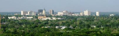 Google Map Usa by Google Map Of Topeka Kansas Usa Nations Online Project