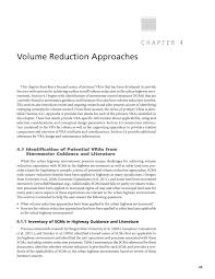chapter 4 volume reduction approaches volume reduction of