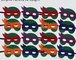 ninja turtle mask etsy