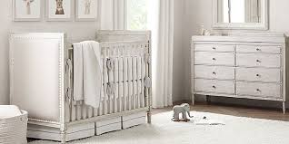 Vintage White Baby Crib by Nursery Collections Rh Baby U0026 Child