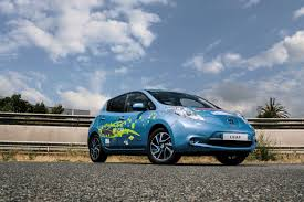 nissan leaf year changes nissan leaf 48 kwh prototype built to compete in spanish race