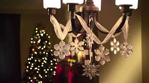 chandelier sparkle holiday decorating tips from debbie youtube