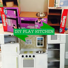 Kids Plastic Play Kitchen by Best 25 Diy Play Kitchen Ideas On Pinterest Kid Kitchen Diy