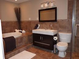 Bathroom Tile And Paint Ideas Brown Tile Bathroom