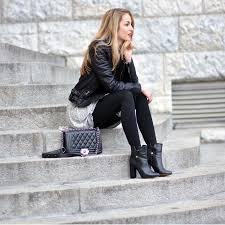 womens black leather biker boots women u0027s black leather biker jacket grey swing dress black
