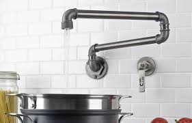 kitchen faucets in the interior ideas for design